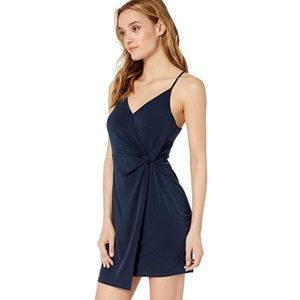 NWT BCBGeneration navy blue twist knit dress